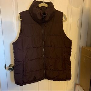 Old Navy Fleece Lined Puff Vest